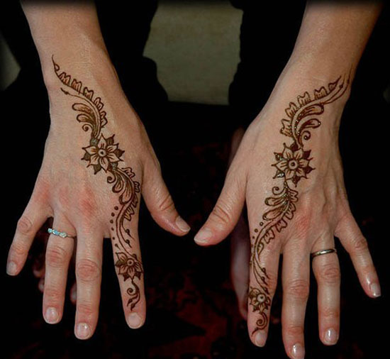 Simple Henna Tattoo Henna Tattoo: Top Ten Henna Tattoo Designs